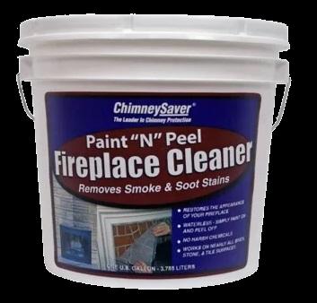 Paint N Peel Fireplace Cleaner